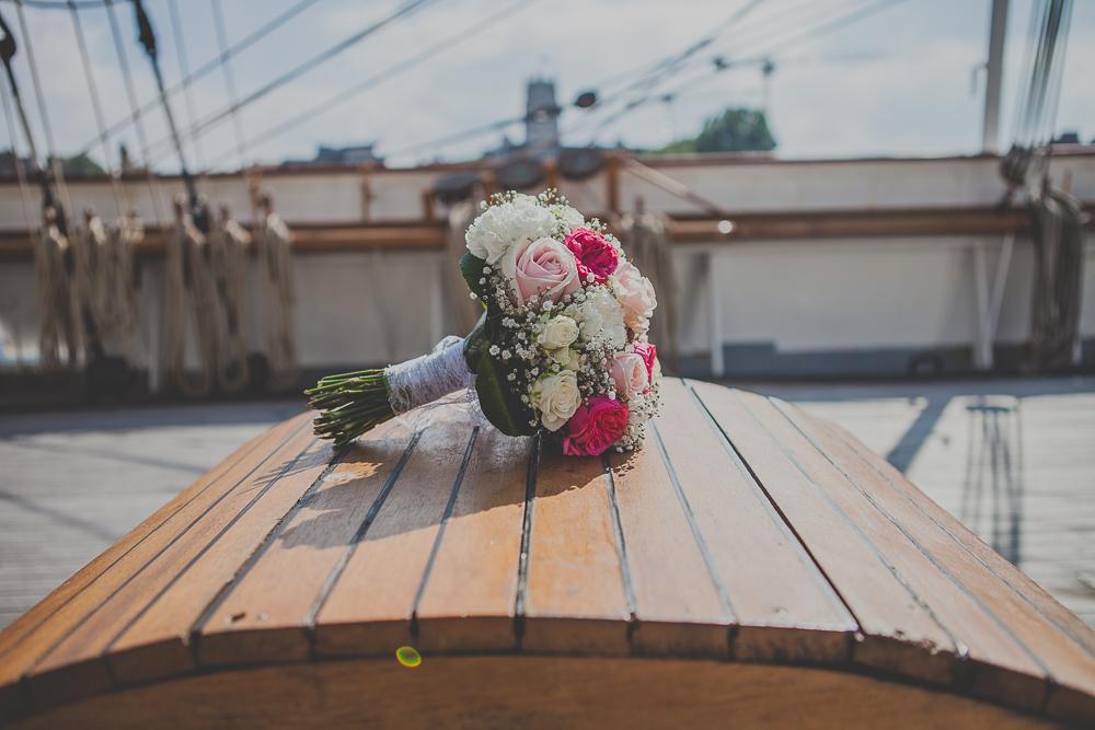mariage sur le bateau duchesse anne - Photographe Mariage Dunkerque